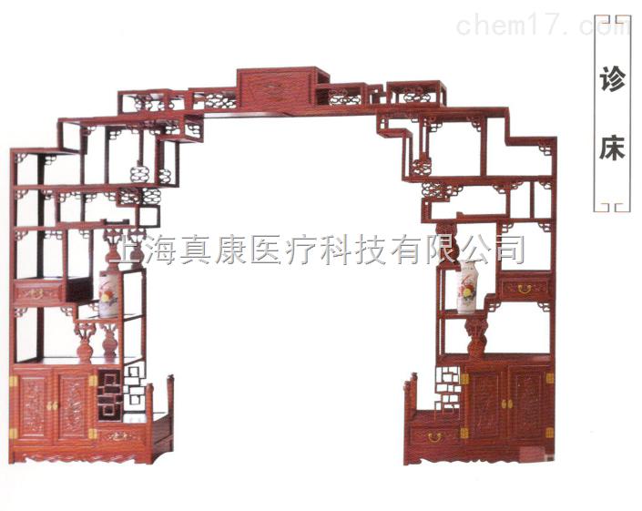 中医馆月亮门2(博古架)