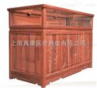 藥房老榆木原木色展示櫃