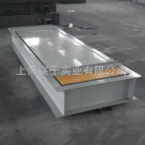 50吨固定式轴重秤 固定路段用轴重计量仪