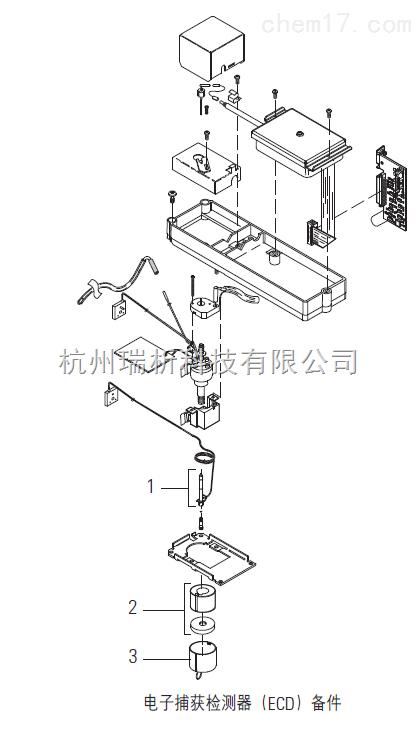 安捷伦ECD安捷伦电子捕获检测器(ECD)