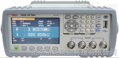 聚源TH283X係列緊湊型LCR數字電橋