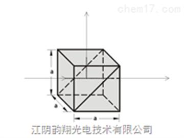 非偏振寬帶立方體分束器