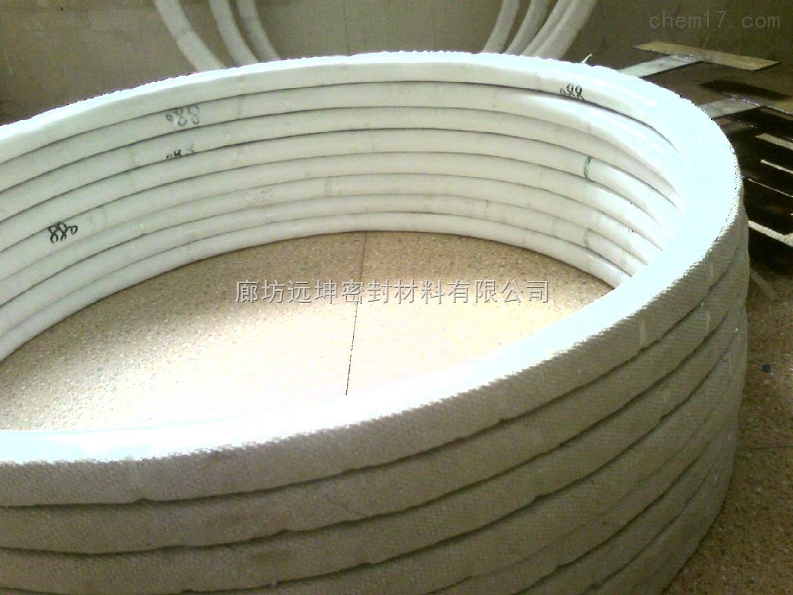 四氟包覆垫片 1800*1900反应釜石棉垫片厂家