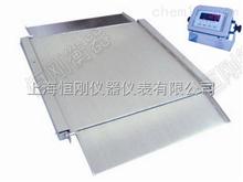 电子地磅秤3吨超低电子地磅秤 两面带斜坡电子磅秤