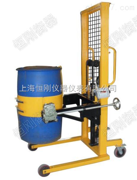 液压式称重油桶秤,定制不锈钢倒桶秤