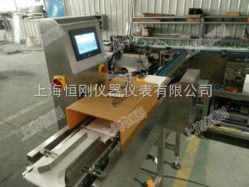 大蒜自动分选机 皮带式多级高精度检重秤