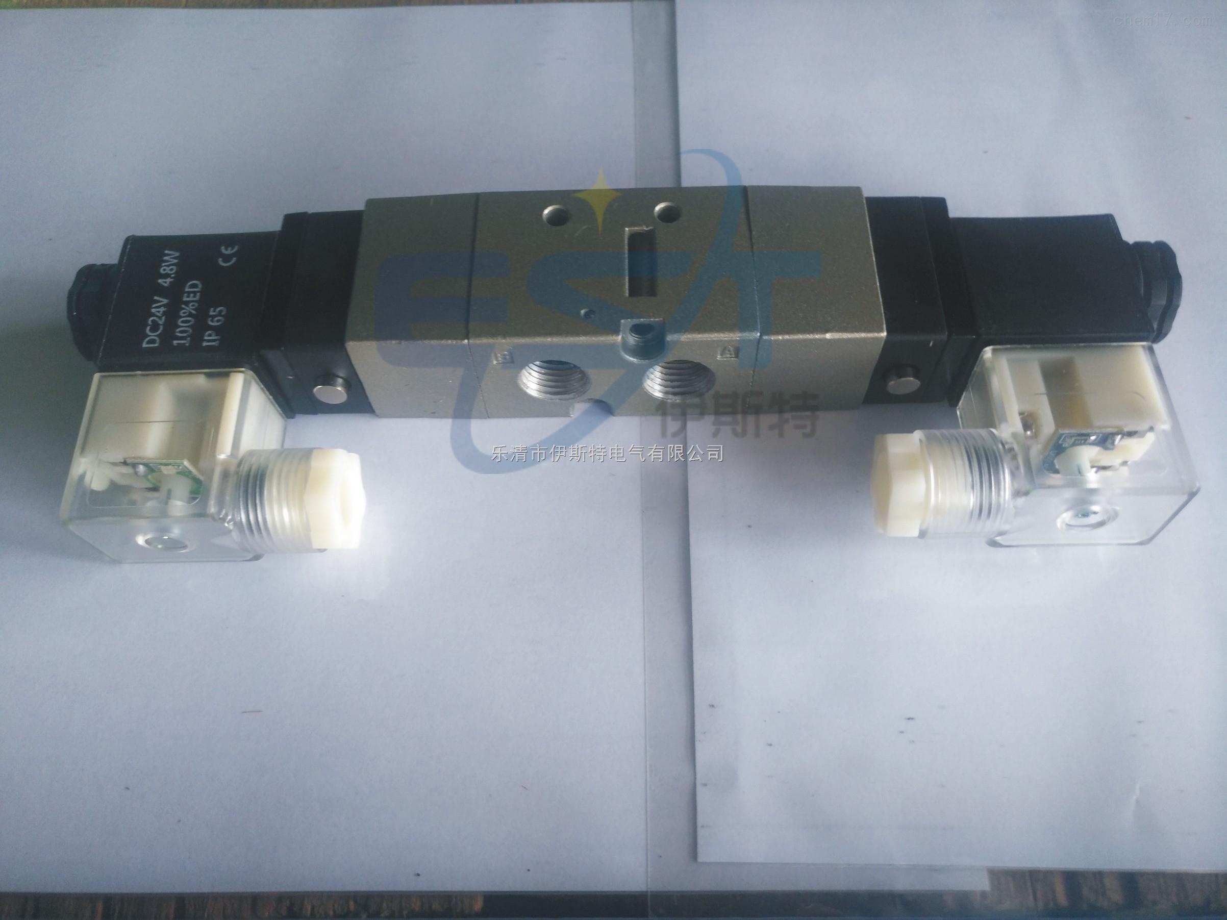 vf3330三位五通封闭型电磁阀图片