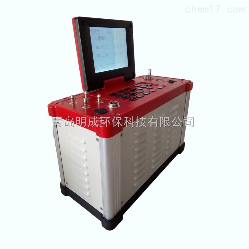 青岛明成LB-62内置锂电池自动烟气分析仪