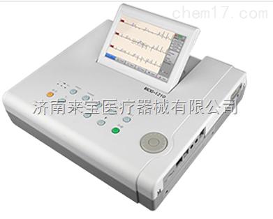 心电图机厂家邦健ECG-1210检测