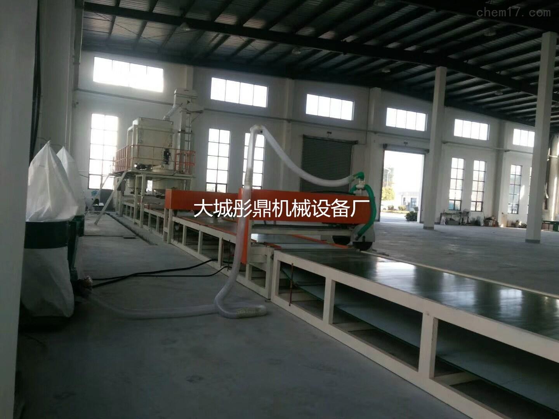 岩棉砂浆复合板设备的详细报告