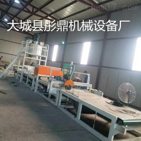 什么是水泥岩棉砂浆复合板设备