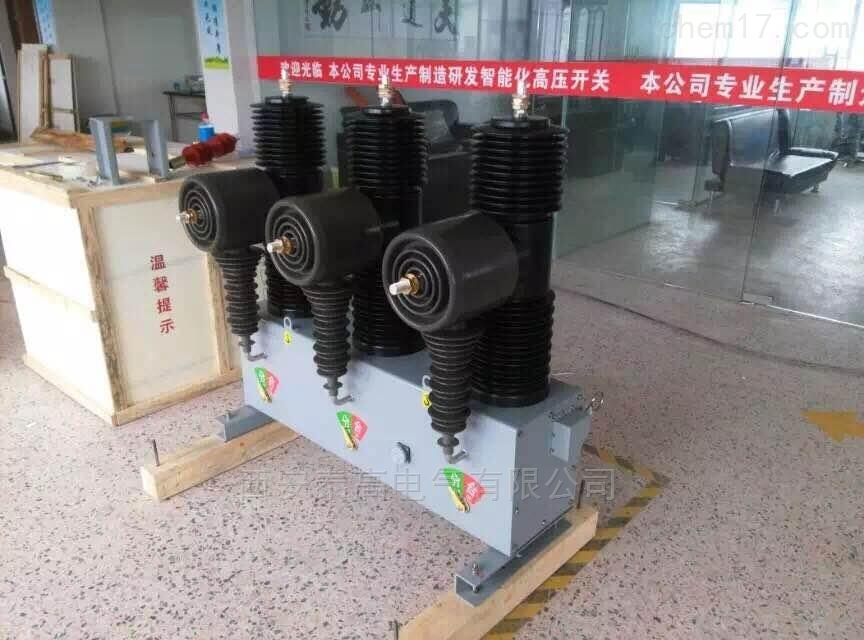 自主研发35kv柱上小型化智能真空断路器厂家