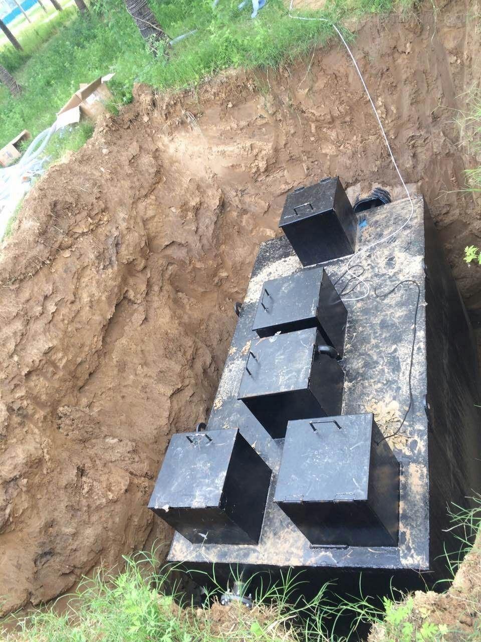 广西生活污水处理设备技术方案