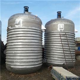 旧货评估回收二手10000升搪瓷反应釜