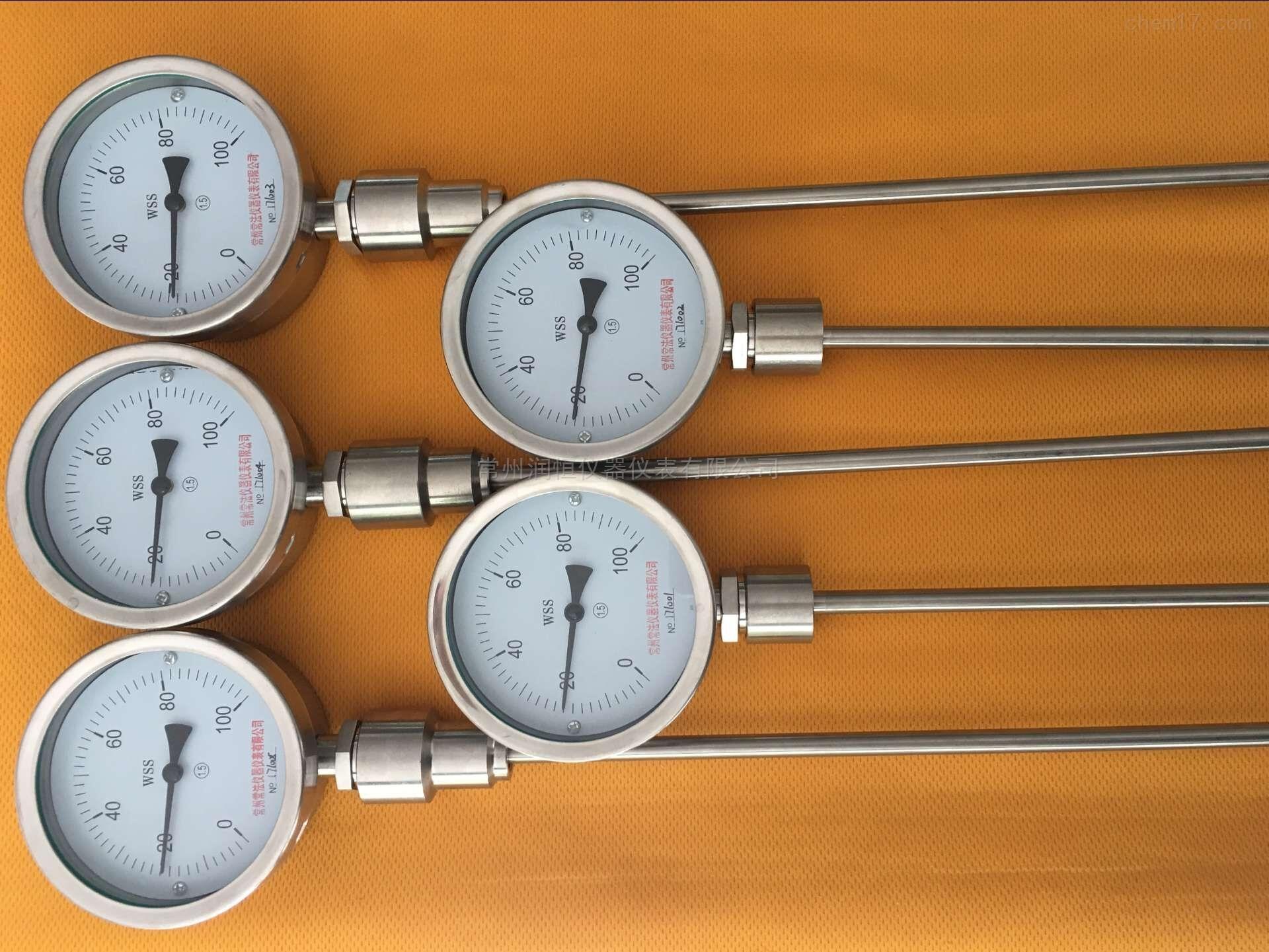 WSS工業雙金屬溫度計生產廠家