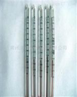 水银玻璃温度计