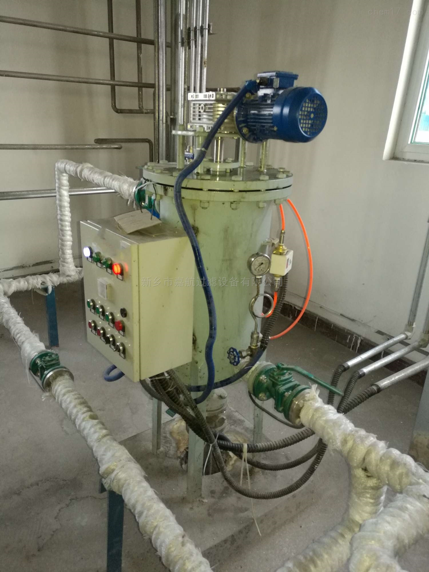循环水旁滤器操作介绍