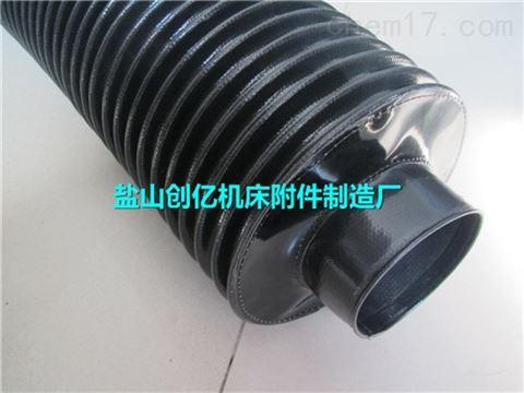 耐腐蚀阻燃硅胶风机软连接