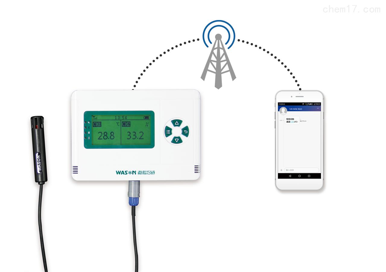供應新款短信報警溫濕度記錄儀