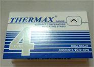英国THERMAX温度纸4格A热敏试纸测温贴温纸