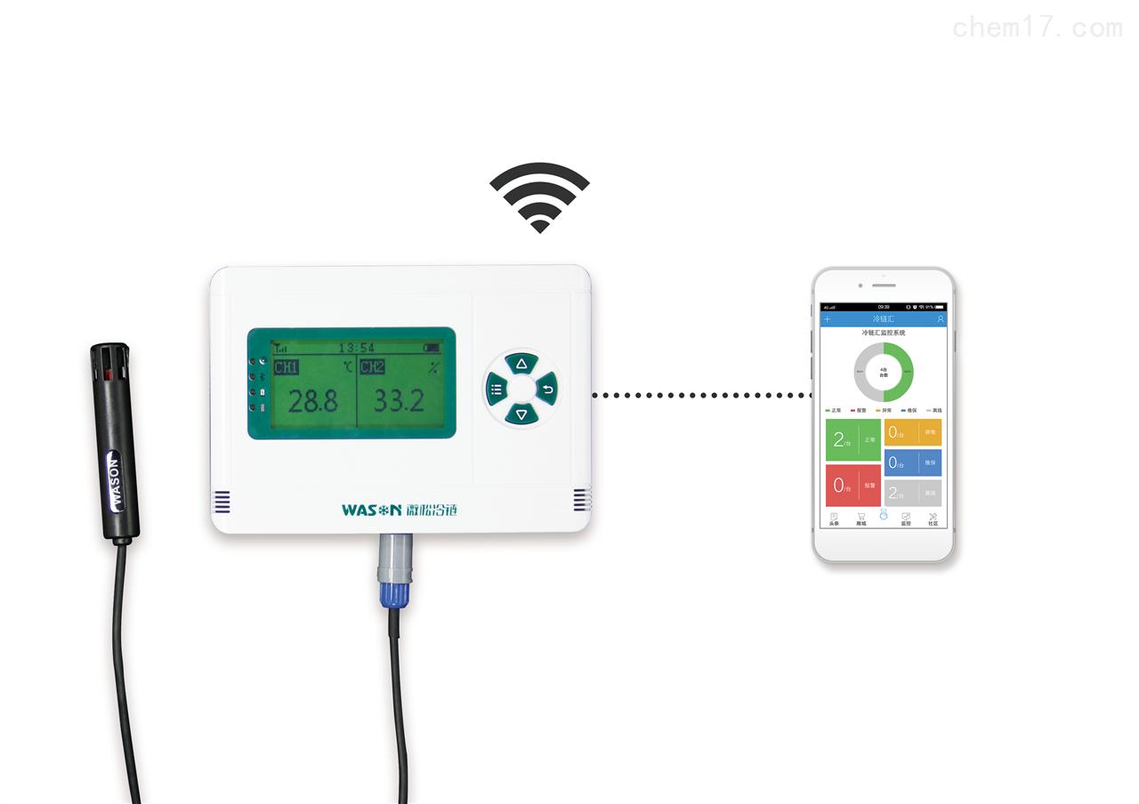 GPRS无线温湿度采集器(外接传感器)