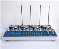HJ-4四联(四头)磁力加热搅拌器
