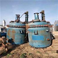 低价处理二手10吨搪瓷反应釜