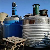 大量转让闲置二手5吨不锈钢反应釜
