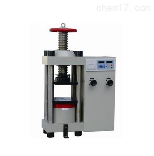 数显式压力试验机(手动丝杠)YES-2000