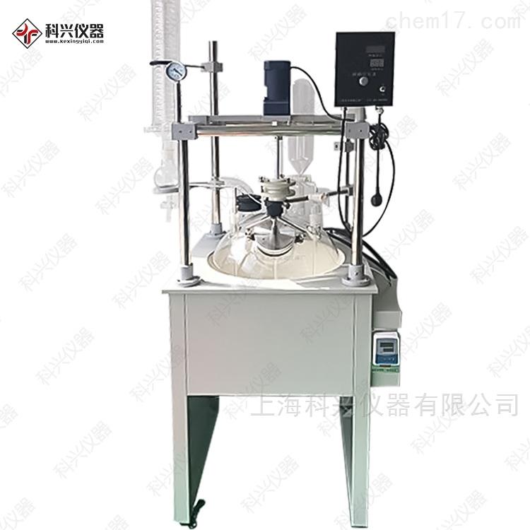 上海科兴 单层玻璃反应釜 加热套式 F系列