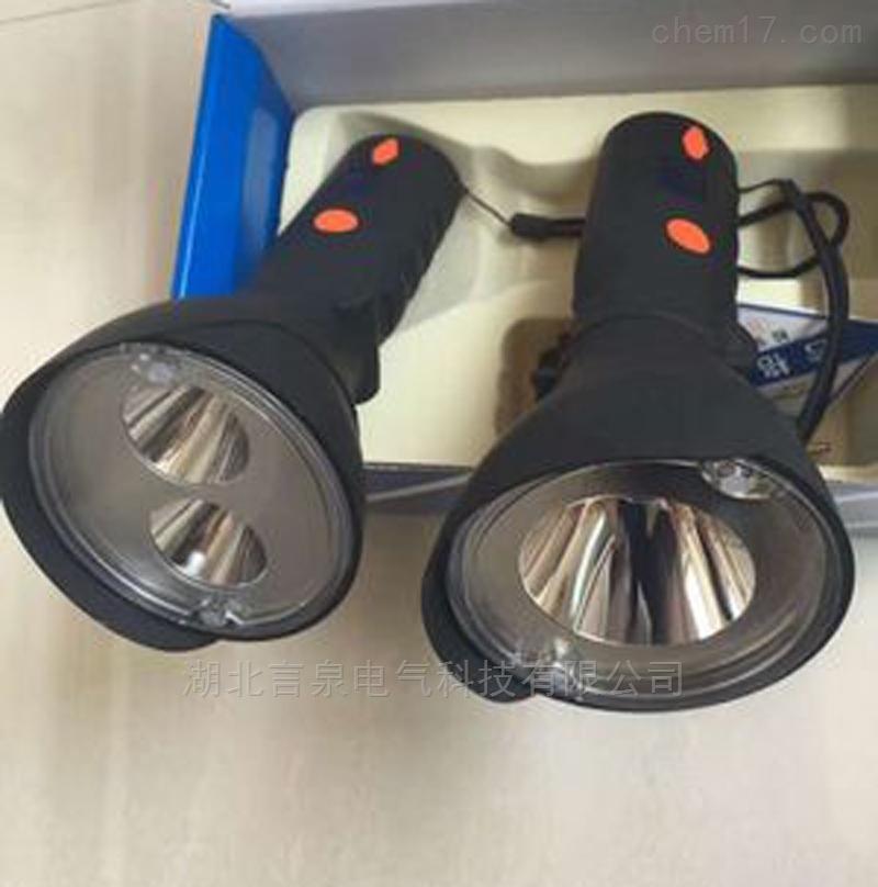 河北NVC021-A额定电压3.7V防爆手握电筒2*3W