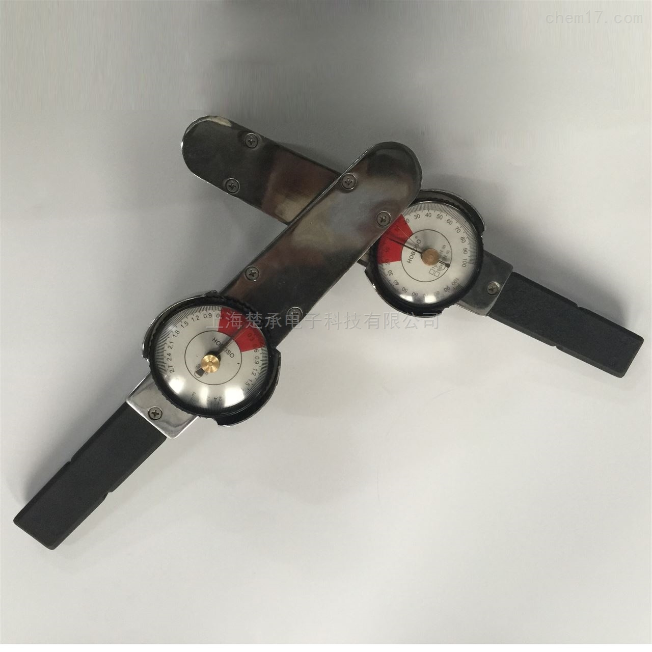 指針式扭矩扳手檢測螺母用的刻度式