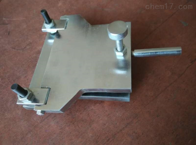 防水卷材手动弯折仪