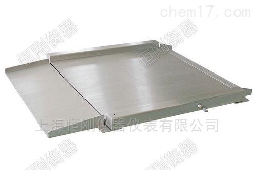不锈钢超低电子磅秤 超低斜面地磅平板秤