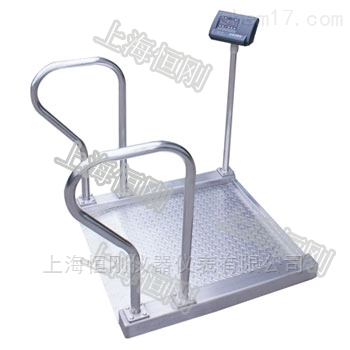 透析诊疗不锈钢轮椅秤 蚀轮椅体重秤