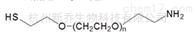 PEG衍生物HS-PEG-NH2 MW:2000巯基聚乙二醇氨基