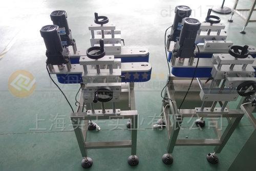圆瓶夹持输送机 接流水线立式夹瓶传输机