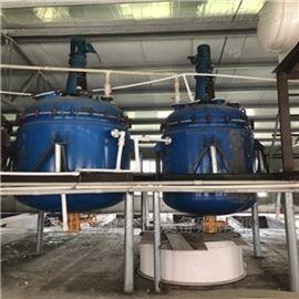 出售闲置二手搪瓷反应釜 3吨5吨型号齐全