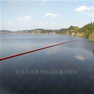 塑料航道拦污栅拦截浮体塑料浮筒