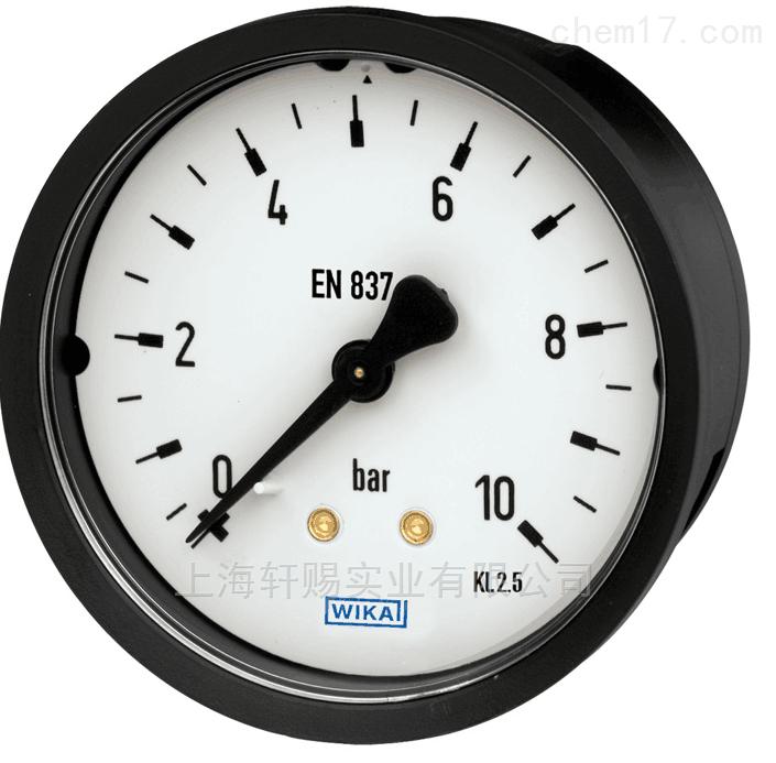 德国WIKA压力表原装正品