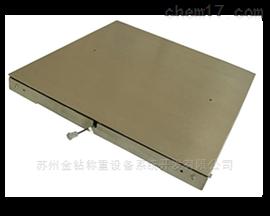 化工行業中油漆專用不銹鋼電子地上衡/地磅