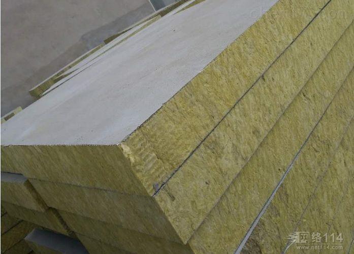 抗压砂浆岩棉复合板