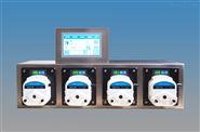 蠕动泵灌装系统触屏操控在线微调GZ100-3A