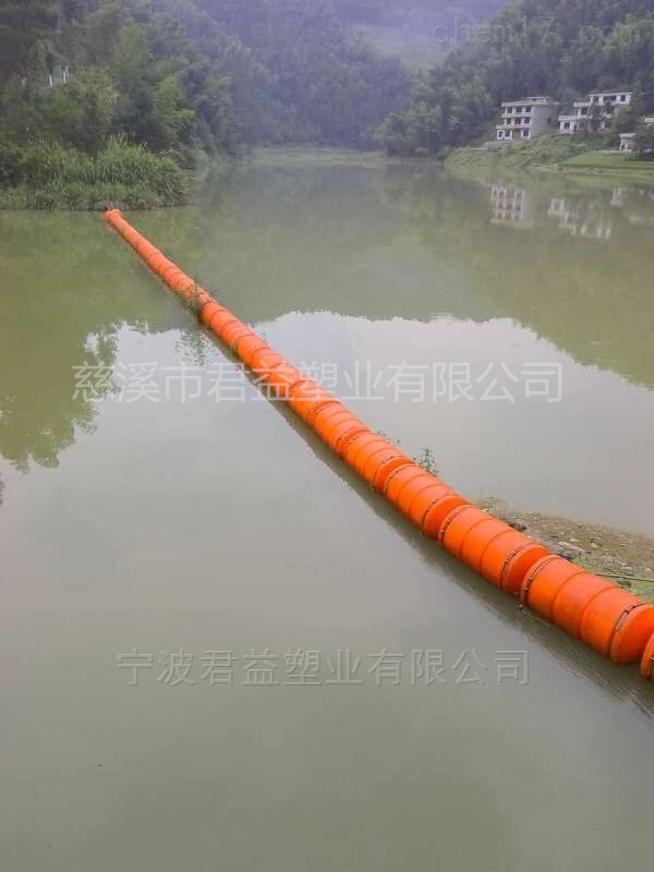 聚乙烯浮筒式拦污排