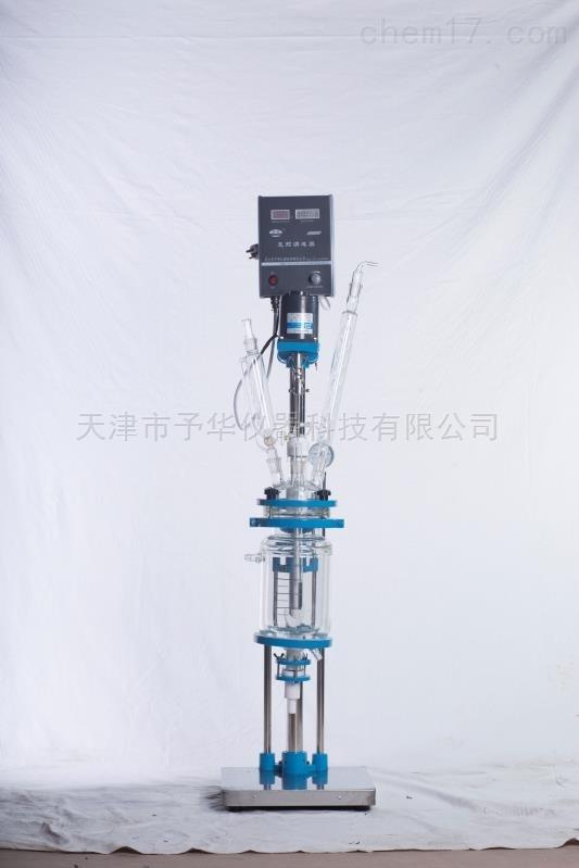 YSF-1L 2L 3L 5L小型双层玻璃反应釜