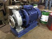 ISW型系列不锈钢卧式管道离心泵