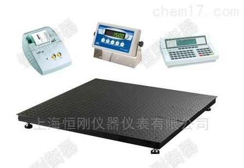 工厂车间可连电脑地磅,打印记录数据电子磅