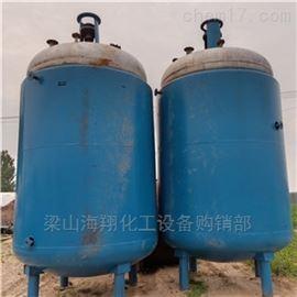 海翔专业回收二手3吨5吨搪瓷反应釜