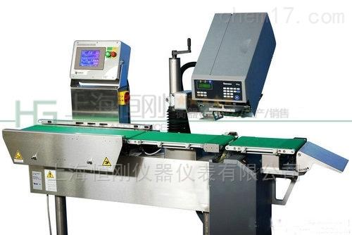 称重打印贴标机 自动称重实时贴标打印设备