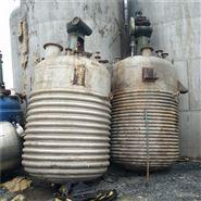 大量出售二手不锈钢外盘管反应釜厂家